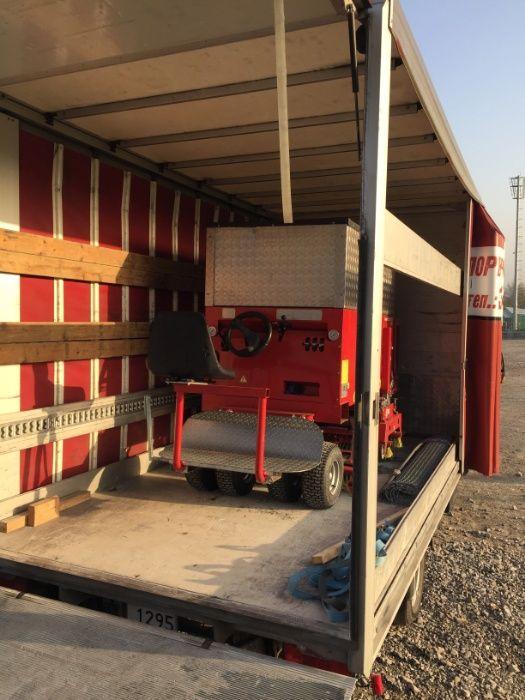 Услуги с товарен бус Падащ борд Извозване на отпадъци Чакъл Пясък Филц