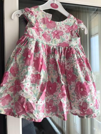 Бебешка официална рокля Mothercare 6 м