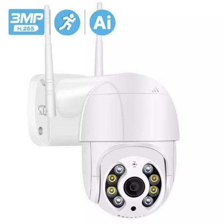 Camera IP supraveghere 3mp 1296p exterior interior wifi PTZ icsee