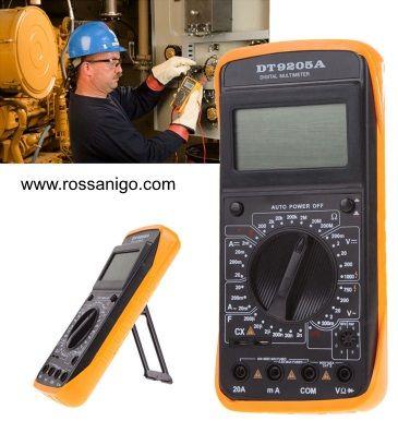 DT 9205 A multimetru digital,aparat de masura cu carcasa antisoc