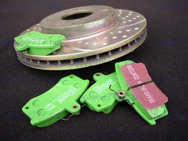 Тормозные колодки и тормозные диски в широком ассортименте