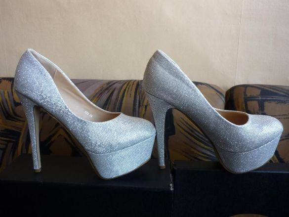Дамски луксозни обувки