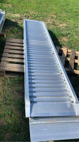 Rampe aluminiu 3.5 metri -7 tone