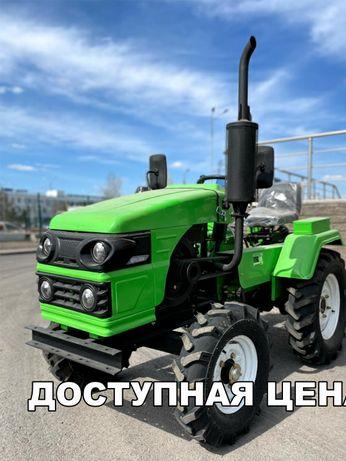 Трактор Рустрак Р-18. Почвофреза и Плуг в подарок!