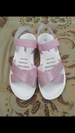 детская обувь сандалики для девочки новые Царевна сандали