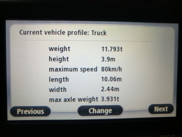 GPS Tomtom GO START LIVE truck, camion, actualizez update harti 2020