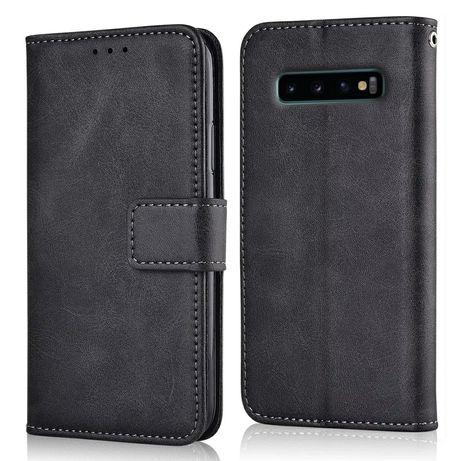 Кожен Калъф Тефтер за Samsung Galaxy S10 / S10+ с магнит / 360 Градуса