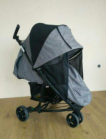 Нова бебешка количка с джоб за таблет лека 8 кг триколка isafe visual3