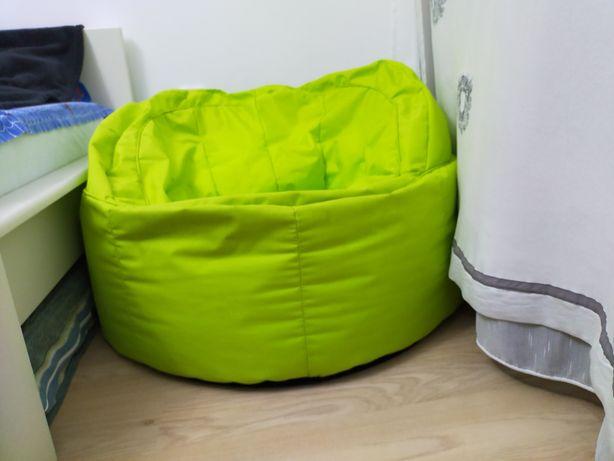 Fotoliu modern culoare verde