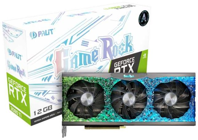 Palit GeForce RTX 3080 Ti GameRock 12Gb