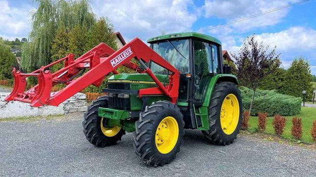 Tractor John Deere 6100 cu incarcator frontal