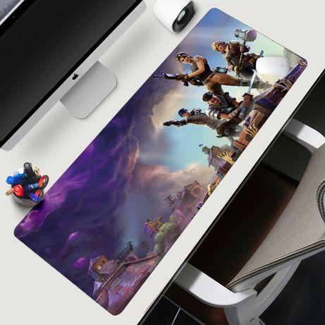 Ново! Fortnite XXXL Геймърски пад подложка за мишка gaming mousepad