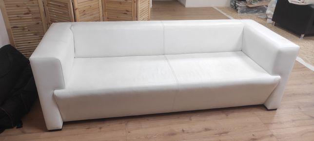 Продам диван, белый, экокожа, Турция