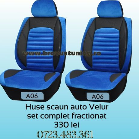 Huse scaun auto VELUR Audi,Bmw,Opel,Skoda,Passat,Logan