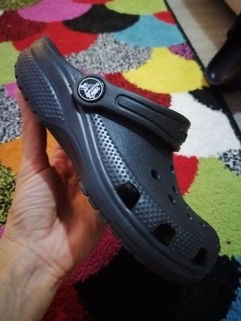 Papuci / sandale Crocs 29-30 negri