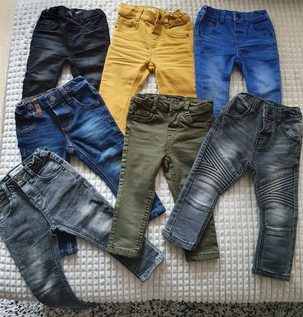 Lot 7 perechi de blugi băieți Next, Zara, H&M, Reserved, C&A