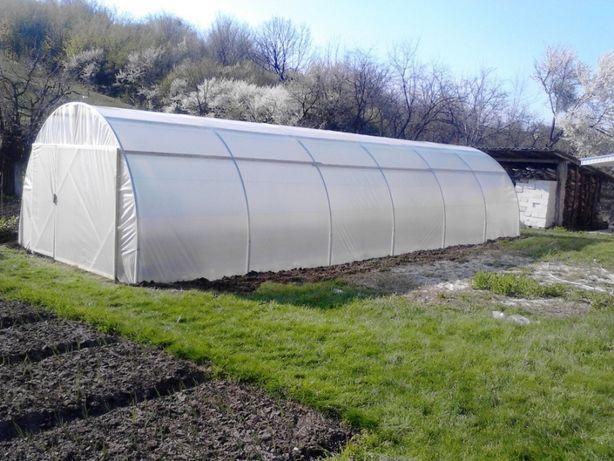 Solarii pt legume si flori Mini-Home KS 8 ( 8 m lungime x 4 m latime)