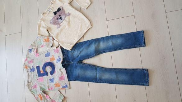 Сет две блузи и дънки