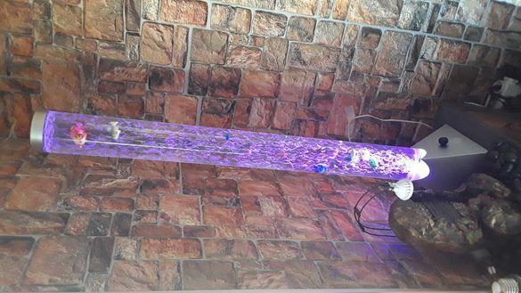 Лампа аквариум 1.20 м висока 70 лева