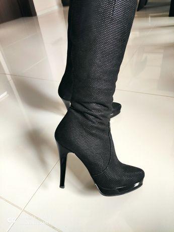 Дамски елегантни ботуши Gianni