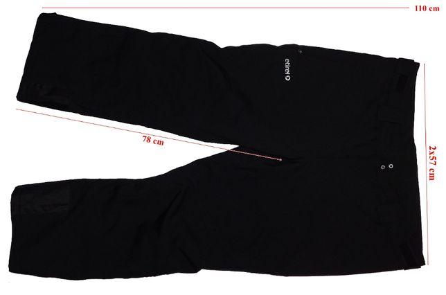 Pantaloni schi softshell Etirel Aquamax 5.5 TEC Insulation barbati 3XL