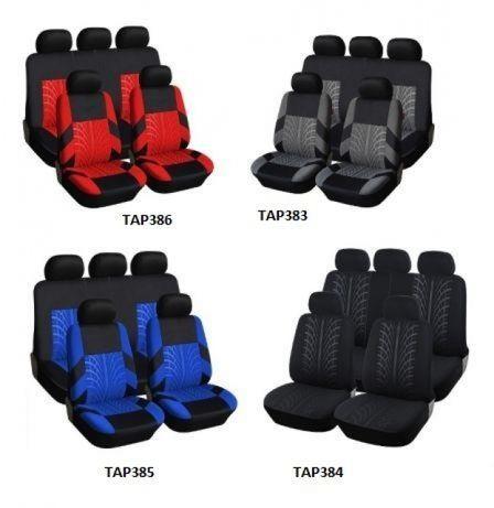 Универсална авто тапицерия ,калъфи за седалки, пълен комплект, 9 части