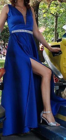 Vand rochie de ocazie de seara albastra