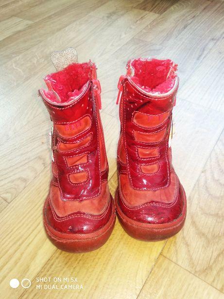 Детская зимняя обувь фирмы PAFI