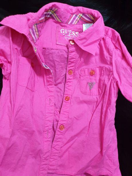 Camasuta marca Guess originala,  sigla Guess cu pietricele si brodata