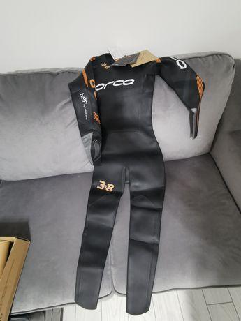 Costum Neopren Scuba Kiting Triatlon Rafting Surfing Orca 3.8 Enduro