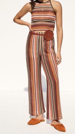 Новые классные брюки-шорты  L размер