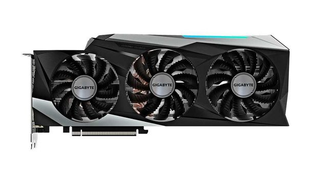 Видеокарта GIGABYTE GeForce RTX 3080 GAMING OC- 10Gb. Без LHR.