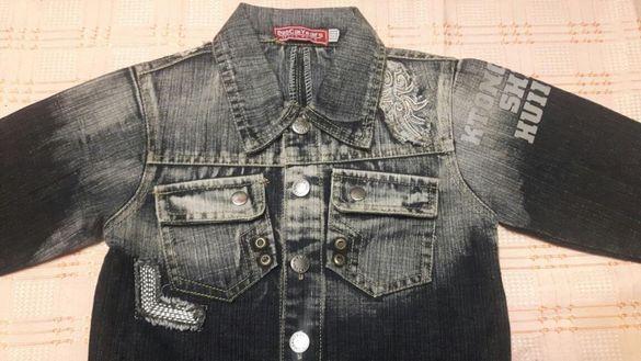 "Детски дънки ""H&M"" нови 92см.и якета различни размери 104/111см."
