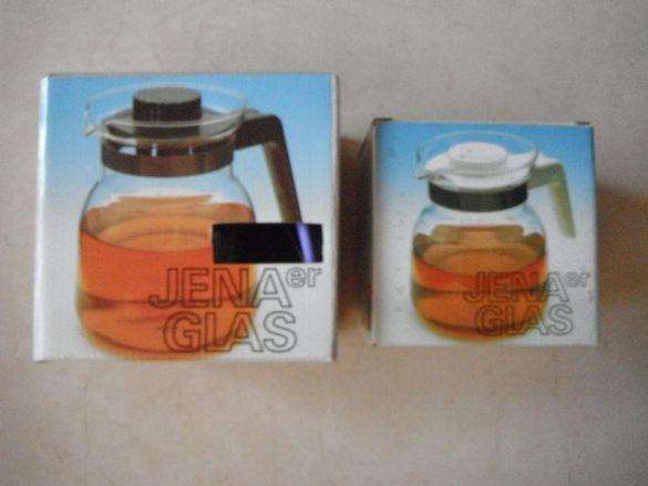 Кани за кафе, чай от йенско стъкло