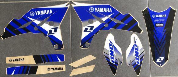 Нови Лепенки на ONE IND. USA за 2010-2013 Yamaha YZ250F Ямаха
