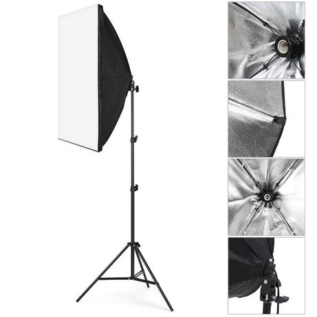 Софтбокс професионално осветление за фото студио