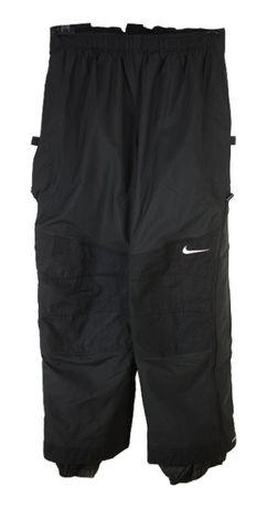 Pantaloni Ski Barbati Nike ACG marimea L Negri Vintage 90s AI50