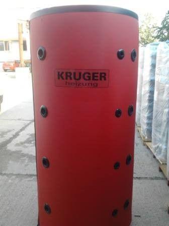 Puffer fara serpentina cu izolatie KRUGER Heizung P 500L.