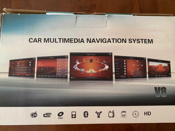 "Sistem multimedia, navigatie + camere AUDI Q5 2009-2016 ecran touch 7"""