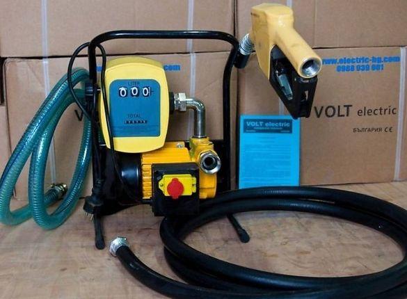 Помпа за гориво и агресивни течности 50 л 220 в