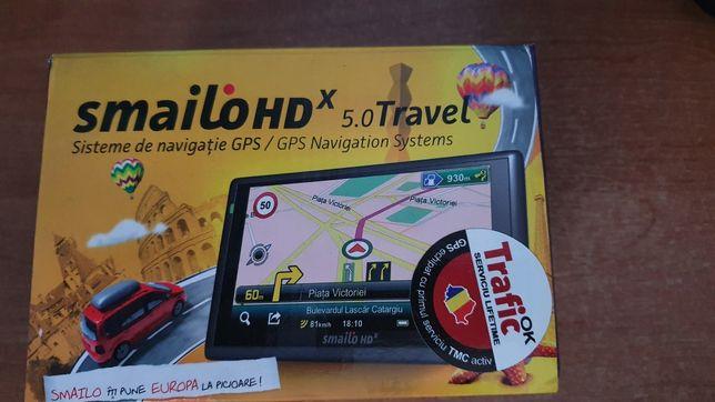 GPS SMAILO HD 5.0 Travel Nou
