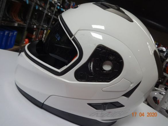 Мото каска мотор каски писта модуларна втора употреба с тъмни очила