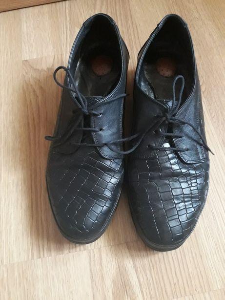 Pantofi piele naturală Manos Choes