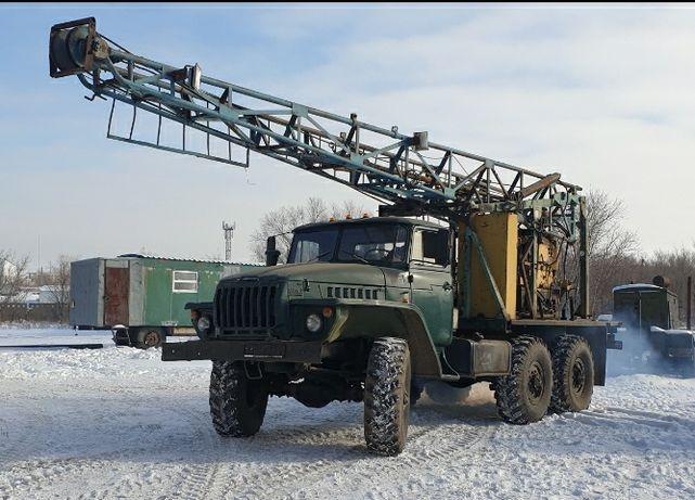 Продам буровую установку УКБ-500 (СКБ-5) на шасси Урал 4320.