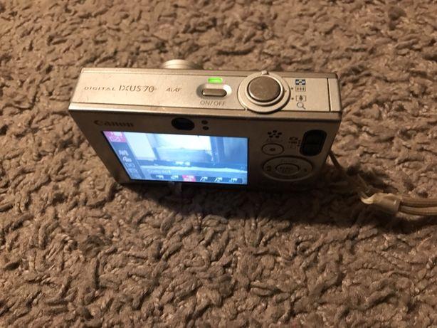 Canon Ixus 70 7.1MP, card, incarcator