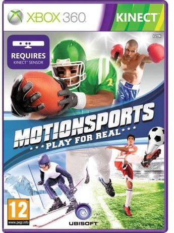 Joc ORIGINAL XBOX360 Kinetic Kinect Sport Motionsports PLAY FOR REAL