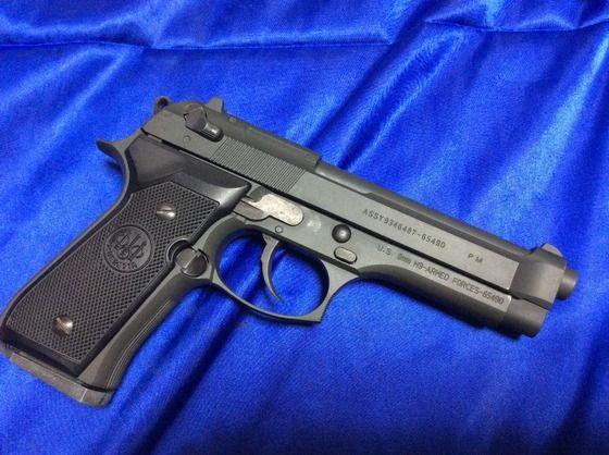 EDITIE LIMITATA-Pistol Airsoft Modificat Beretta M9 METAL Co2gaz Elite