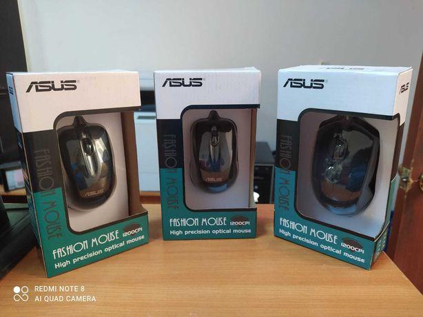 Мышка проводная USB Asus