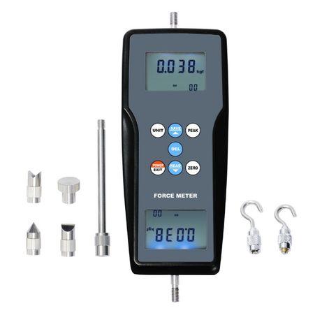1217 Силомер нютон-метър за измерване сила на опън и натиск N/kg / l