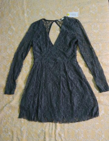Сива рокля Terranova - размер М